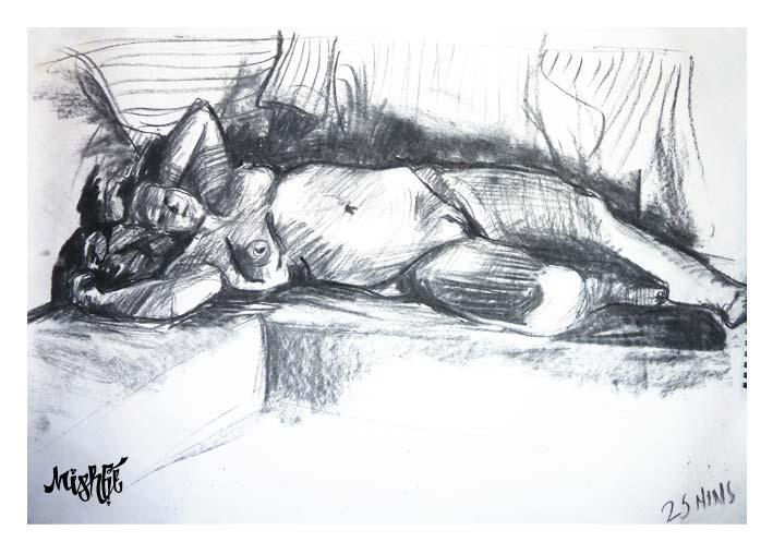 25 minute sketch